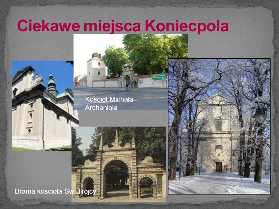 Brama kościoła Św. Trójcy Kościół Michała Archanioła