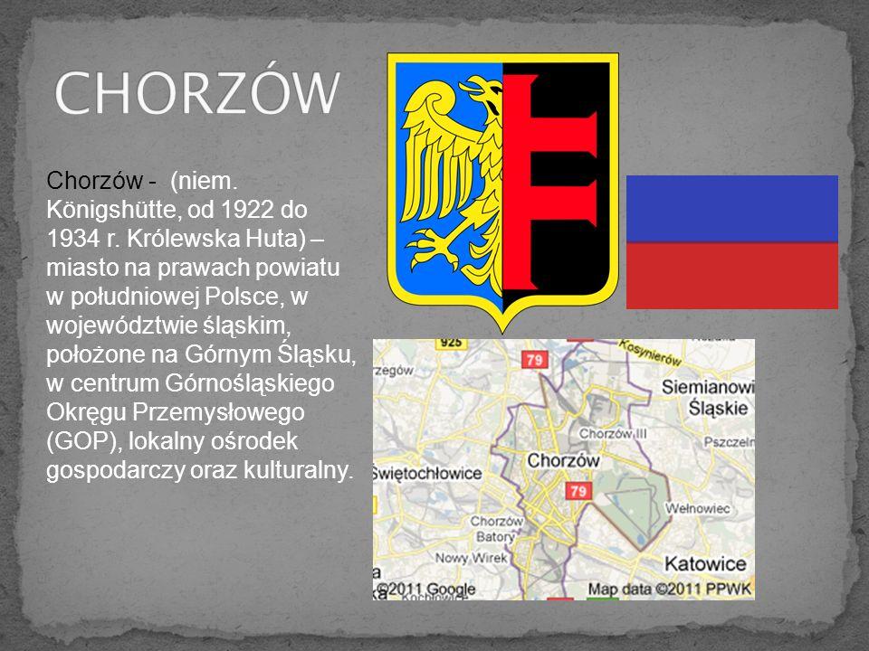 Z Chorzowa kierujemy się na trasę 11, przez Piekary Śląskie, Tarnowskie Góry, Lubliniec, Olesno, później na ul.