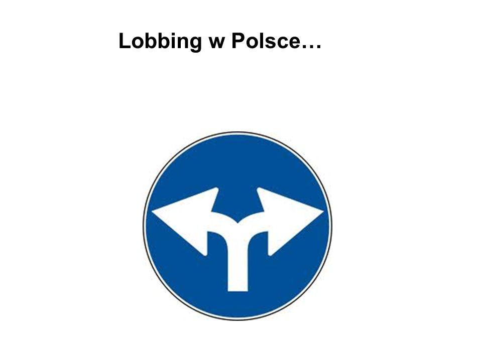 Lobbing w Polsce…