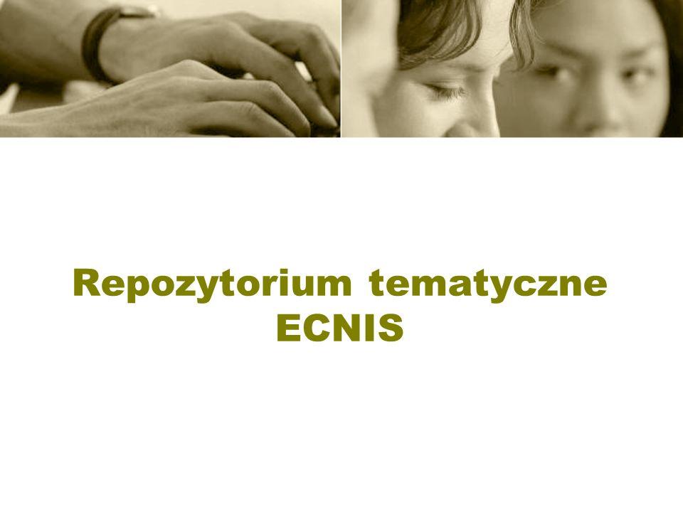 Repozytorium tematyczne ECNIS