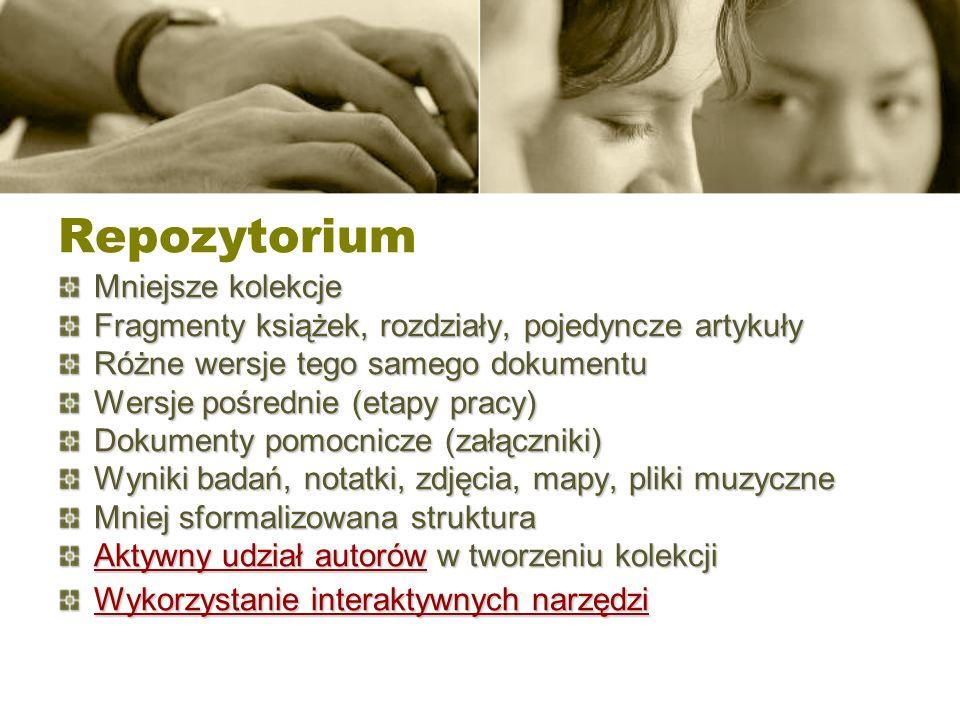 Katalogi repozytori ó w - Open DOAR Katalogi repozytori ó w - Open DOAR http://www.opendoar.org/countrylist.php?cContinent=Europe#Poland