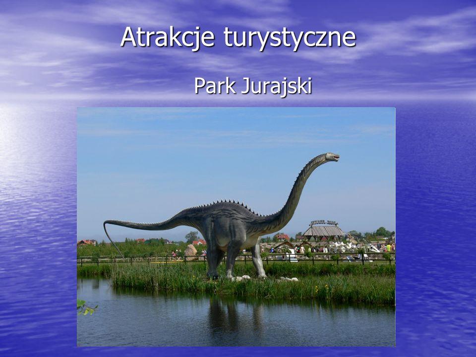 Atrakcje turystyczne Słowiński Park Narodowy, z unikatowymi w skali międzynarodowej Wydmami Ruchomymi, najwyższą górą Łącką. Słowiński Park Narodowy,