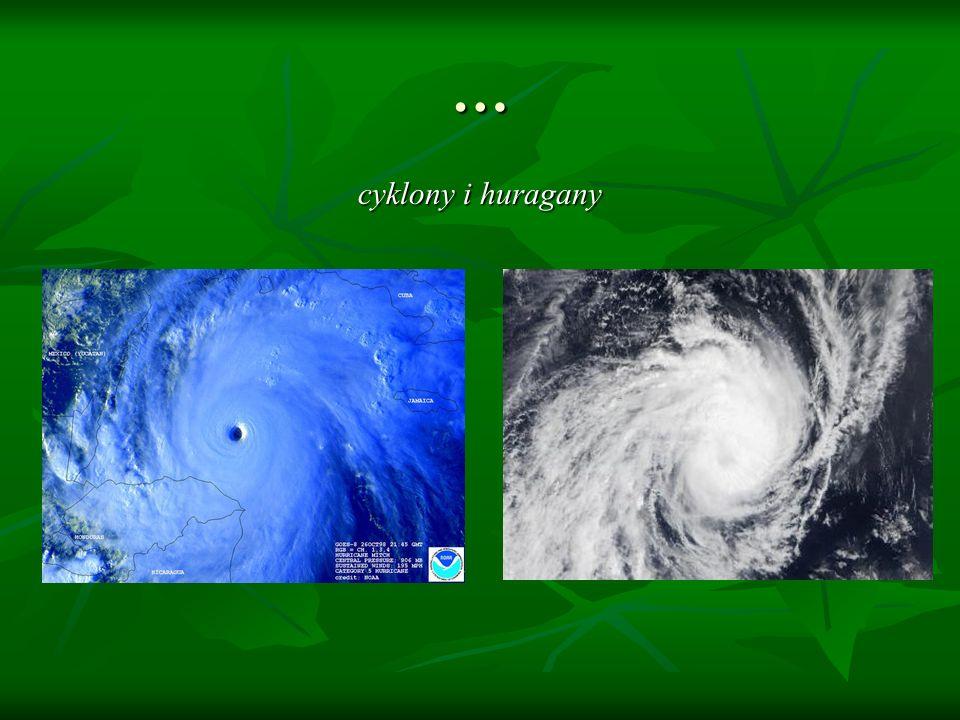 … cyklony i huragany