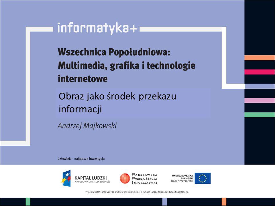 informatyka +1 Obraz jako środek przekazu informacji