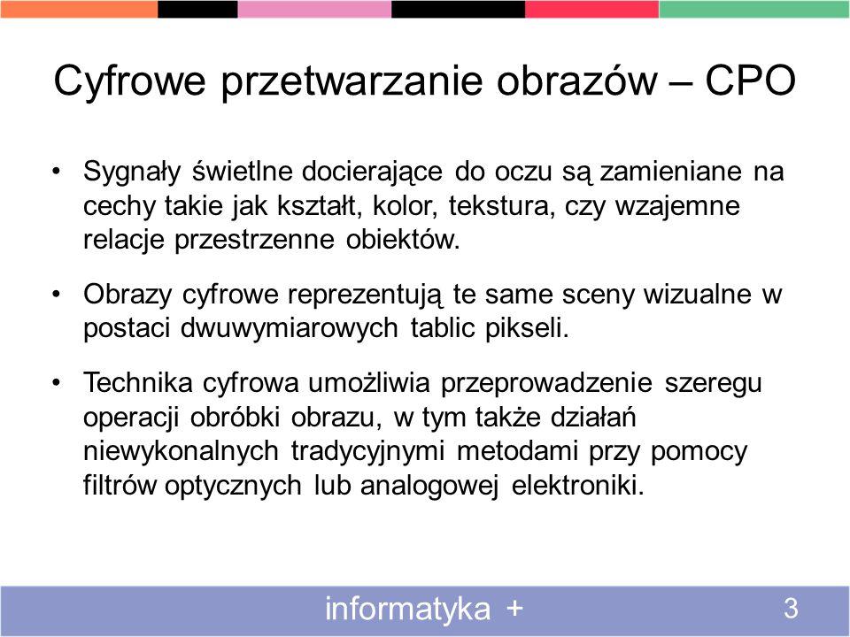 Matryce aktywne informatyka + 44