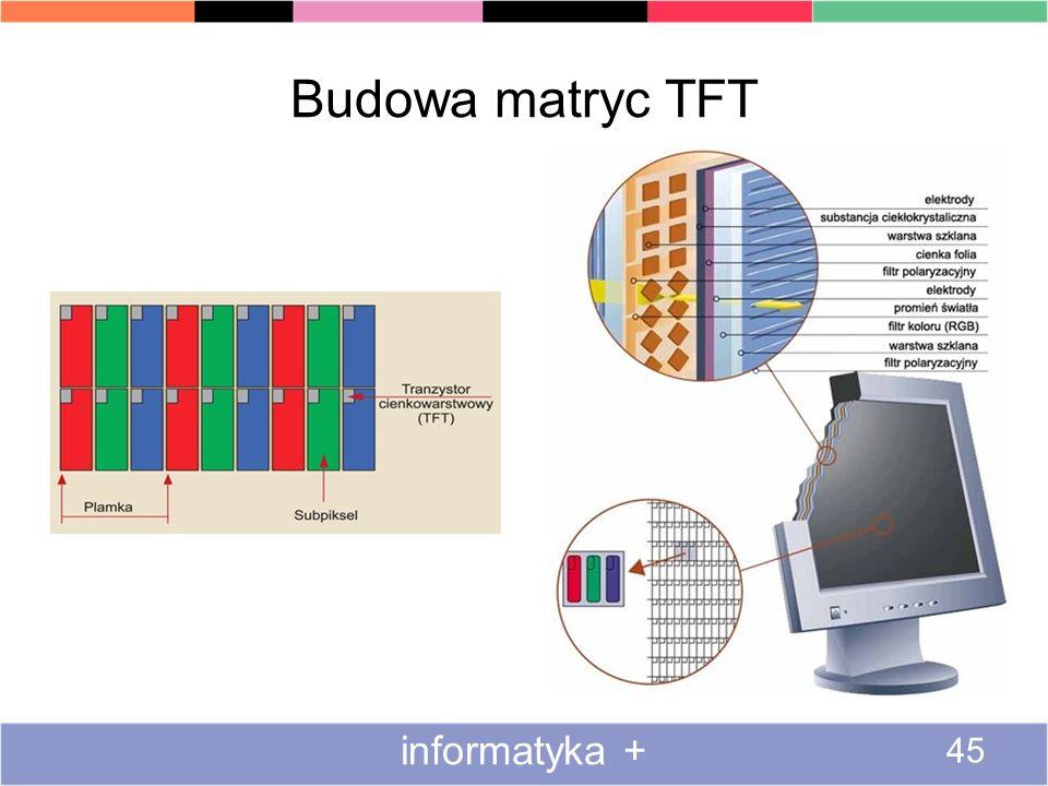 Budowa matryc TFT informatyka + 45