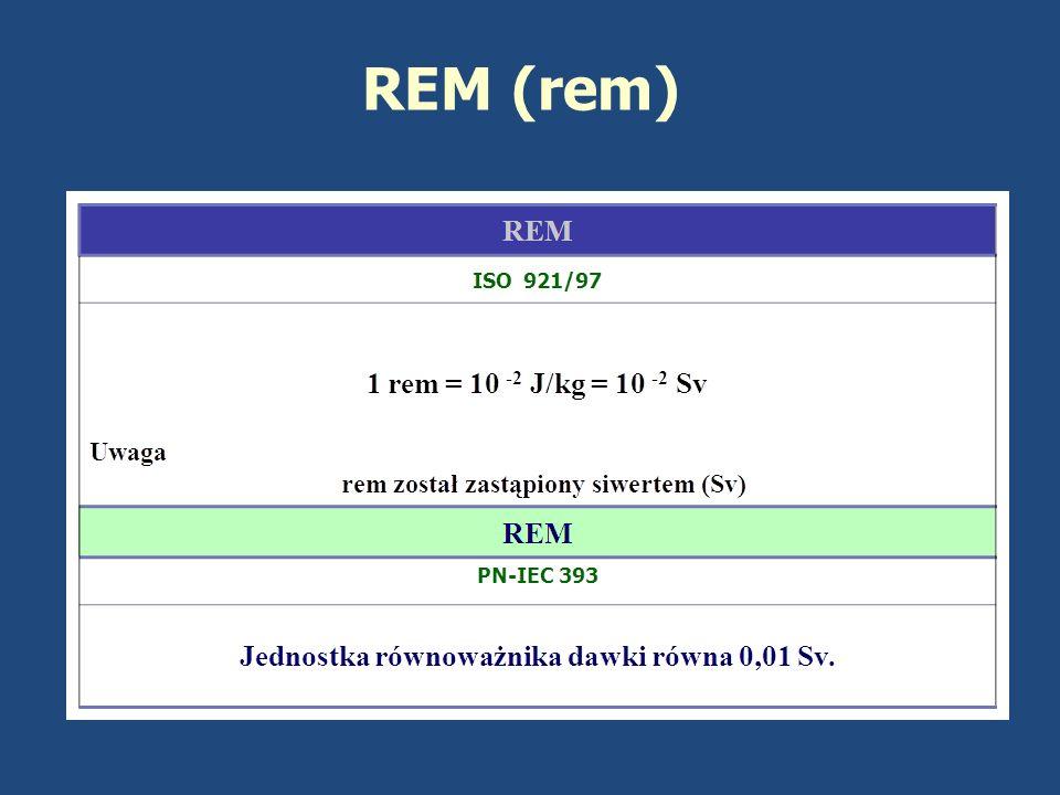 PRZYPOMNIENIE Masowy współczynnik przekazania energii ( K / ): określa jaka część energii padającego promieniowania zostanie przekazana cząstkom naładowanym w nieskończenie małym (infinitezymalnym) obszarze (pierwszy etap procesu przekazywania energii).