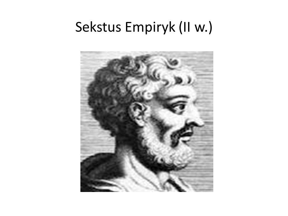 Jakiego rodzaju akty mowy są zawarte w tekstach Sekstusa.