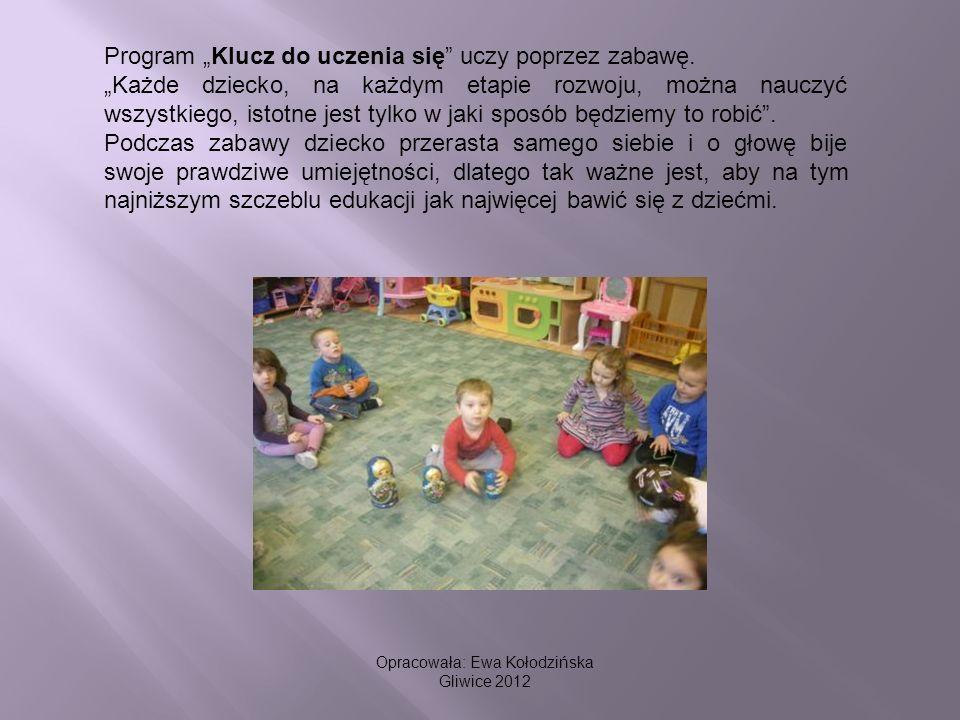Program Klucz do uczenia się uczy poprzez zabawę. Każde dziecko, na każdym etapie rozwoju, można nauczyć wszystkiego, istotne jest tylko w jaki sposób