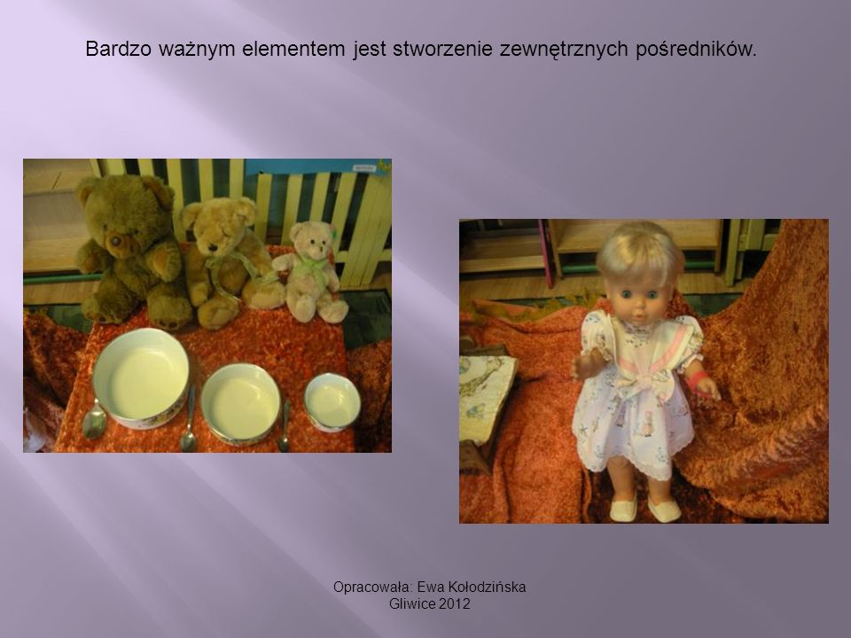 Bardzo ważnym elementem jest stworzenie zewnętrznych pośredników. Opracowała: Ewa Kołodzińska Gliwice 2012