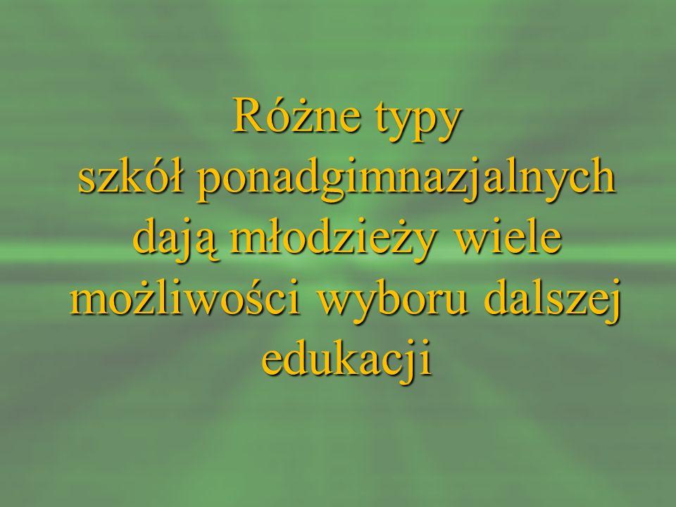 W Powiecie Buskim licea ogólnokształcące oferują kształcenie w oddziałach z przedmiotami w zakresie rozszerzonym: I Liceum Ogólnokształcące im.