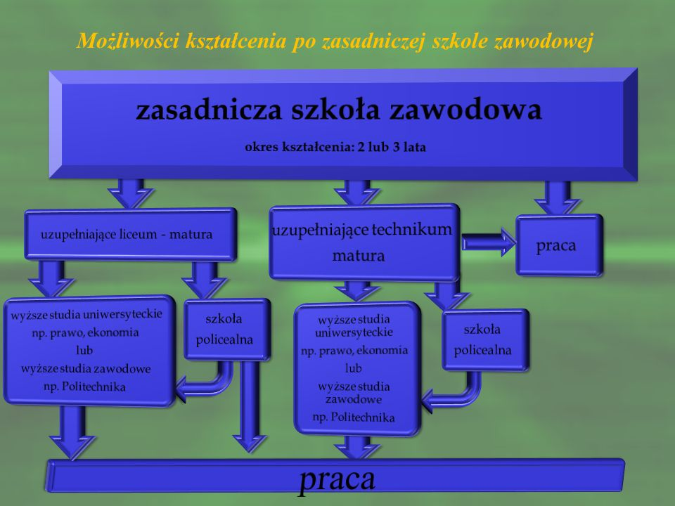 Zasadnicze szkoły zawodowe w Powiecie Buskim przygotowują do zdobycia kwalifikacji m.in.