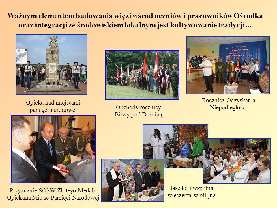Ważnym elementem budowania więzi wśród uczniów i pracowników Ośrodka oraz integracji ze środowiskiem lokalnym jest kultywowanie tradycji... Jasełka i