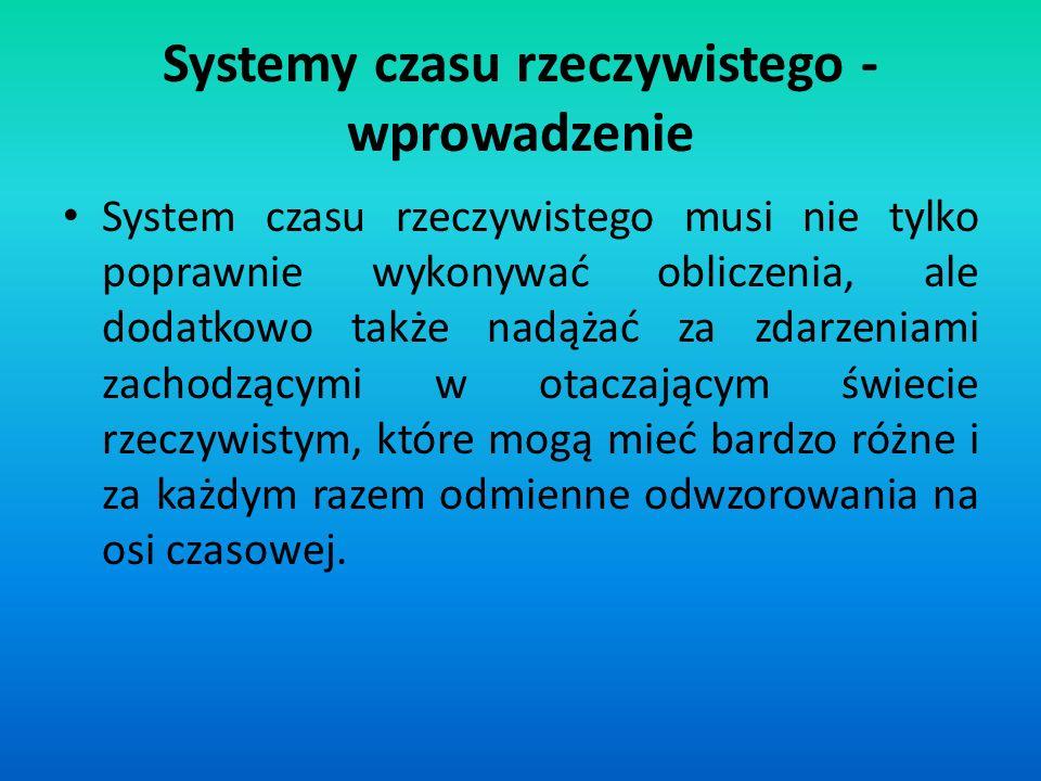 Mechanizm komunikatów umożliwia projektowanie systemów wolnych od zakleszczeń pod warunkiem spełnienia dwóch prostych zasad: 1.