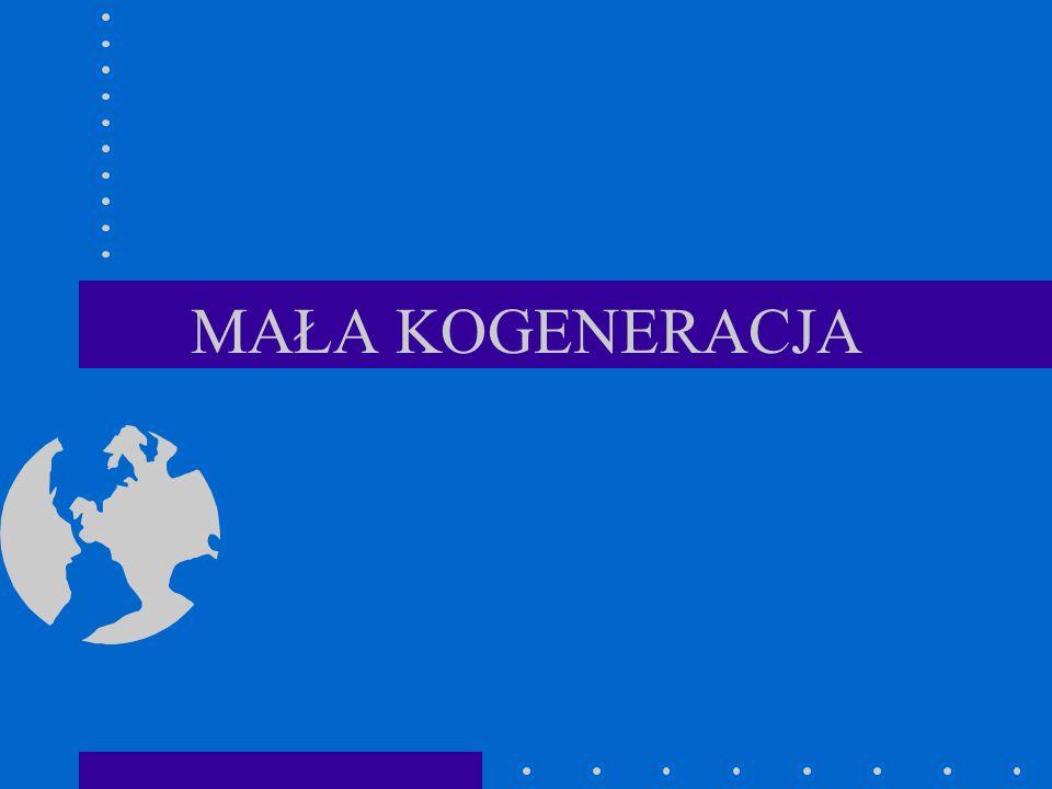 MAŁA KOGENERACJA