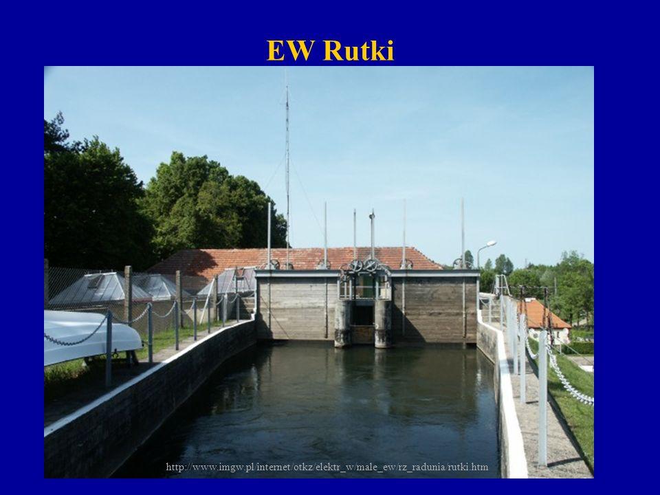 EW Łapino (moc 2294 kW, spad 13.8m) Zlokalizowana na 34+800km rz.