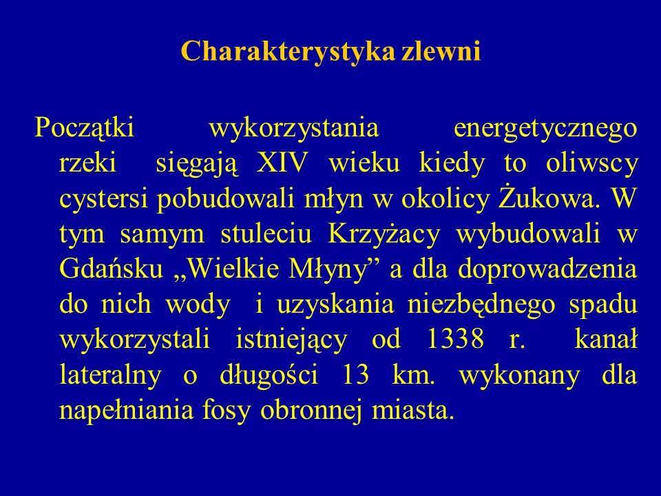 Charakterystyka zlewni W XXw.