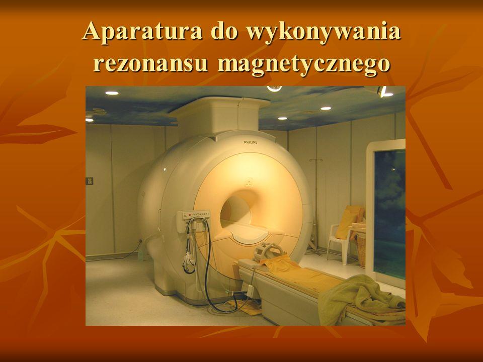 Aparatura do wykonywania rezonansu magnetycznego