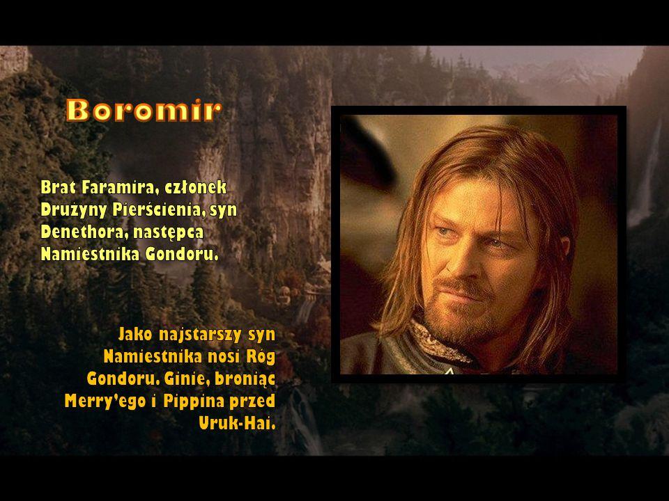 Brat Faramira, członek Drużyny Pierścienia, syn Denethora, następca Namiestnika Gondoru. Jako najstarszy syn Namiestnika nosi Róg Gondoru. Ginie, bron