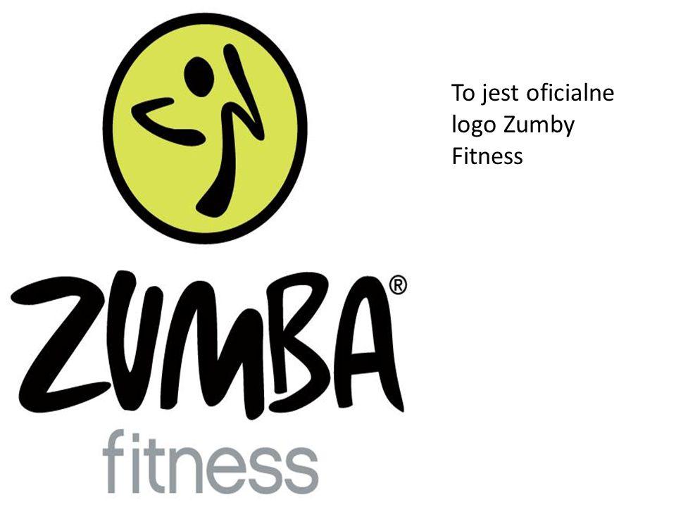 To jest oficialne logo Zumby Fitness