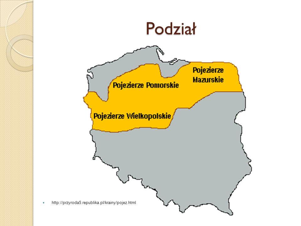 Pojezierze Mazurskie 2 największe jeziora Polski: Śniardwy oraz Mamry Główne miasta regionu: Olsztyn Suwałki, Ełk, Augustów, Mrągowo, Mikołajki Wycieczkowe rejsy po Kanale Elbląskim częściowo odbywają się po lądzie.