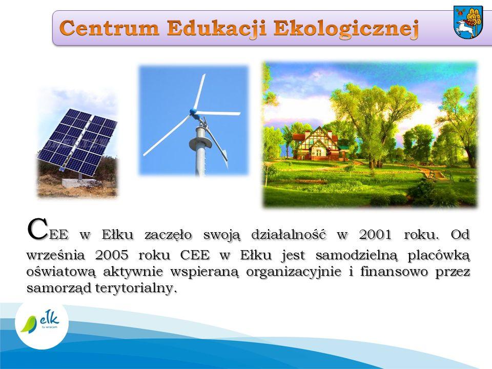 C EE w Ełku zaczęło swoją działalność w 2001 roku. Od września 2005 roku CEE w Ełku jest samodzielną placówką oświatową aktywnie wspieraną organizacyj