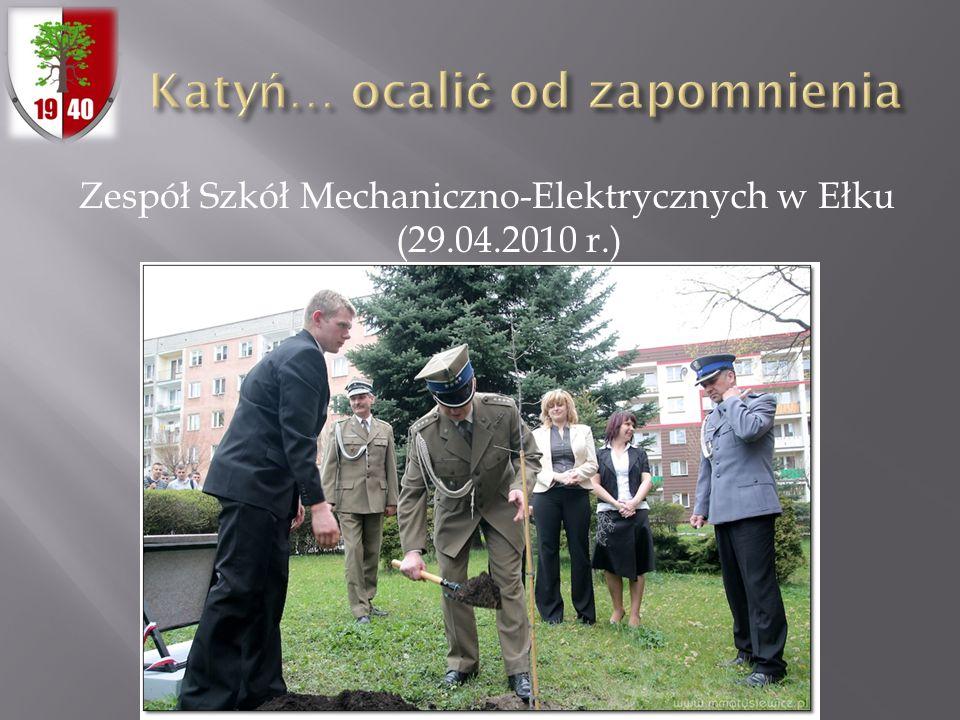 Zespół Szkół Mechaniczno-Elektrycznych w Ełku (29.04.2010 r.)