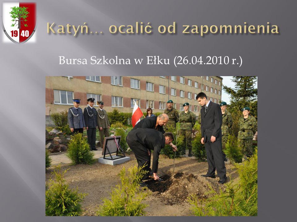 Bursa Szkolna w Ełku (26.04.2010 r.)