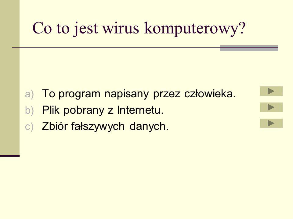 Quiz Cześć dostaniecie przeróżne pytania związane z komputerem i Internetem. Gdy będziecie na nie odpowiadać to zastanówcie się dwa razy zanim zaznacz