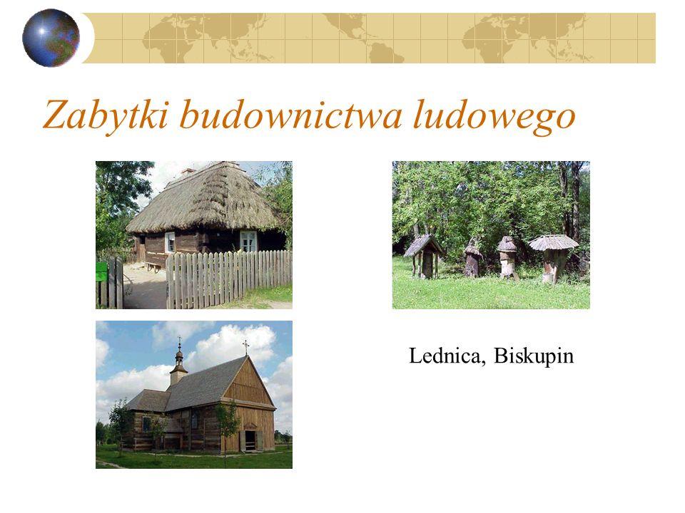 Zabytki budownictwa ludowego Lednica, Biskupin