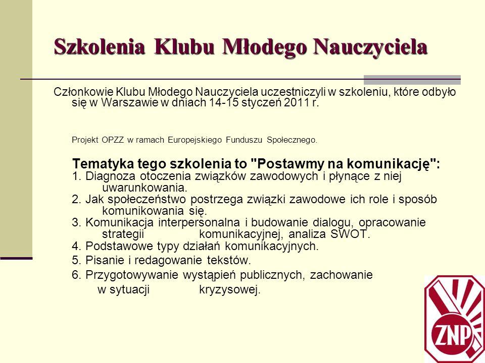 Aktywizacja KMN Przy wsparciu CKMN 21Listopada 2011.