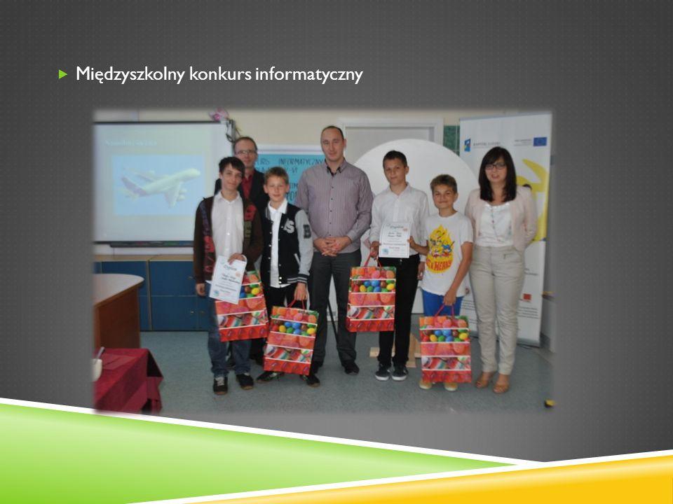 Międzyszkolny konkurs informatyczny