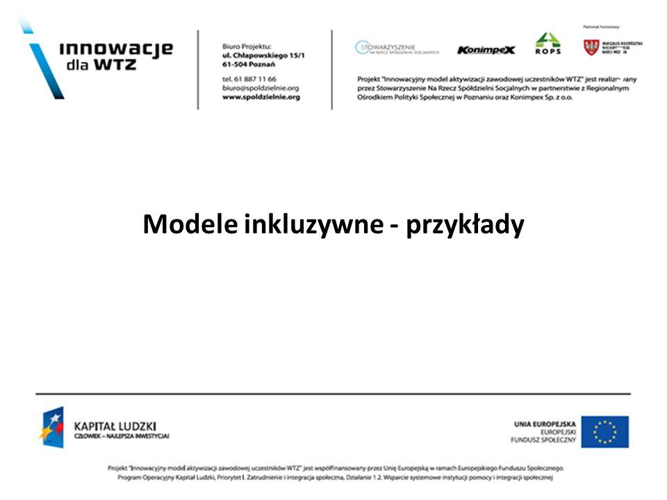 ] Modele inkluzywne - przykłady