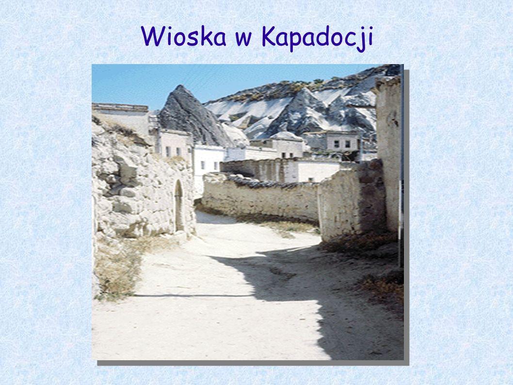 Wioska w Kapadocji