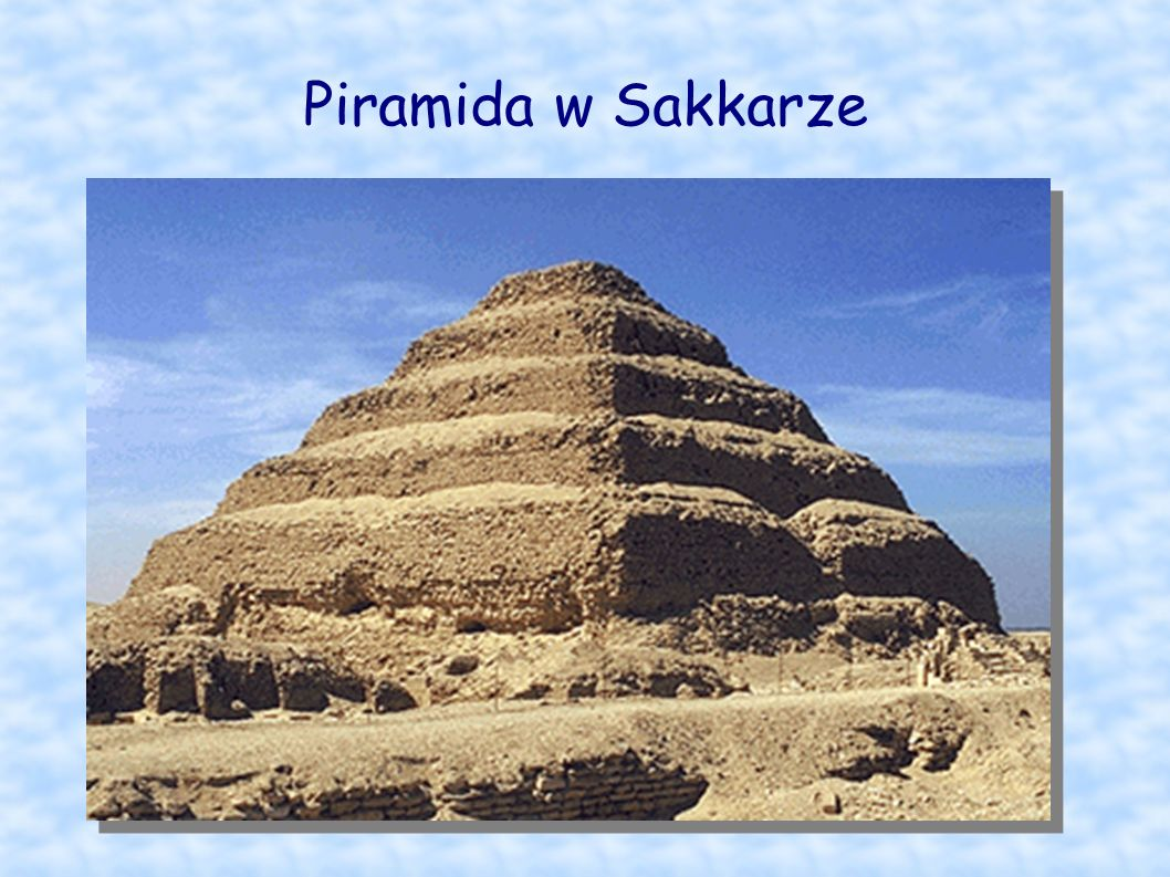 Piramida w Sakkarze