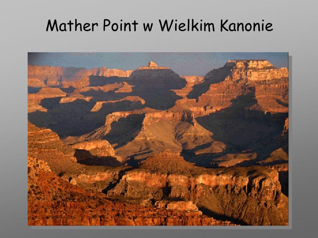 Mather Point w Wielkim Kanonie