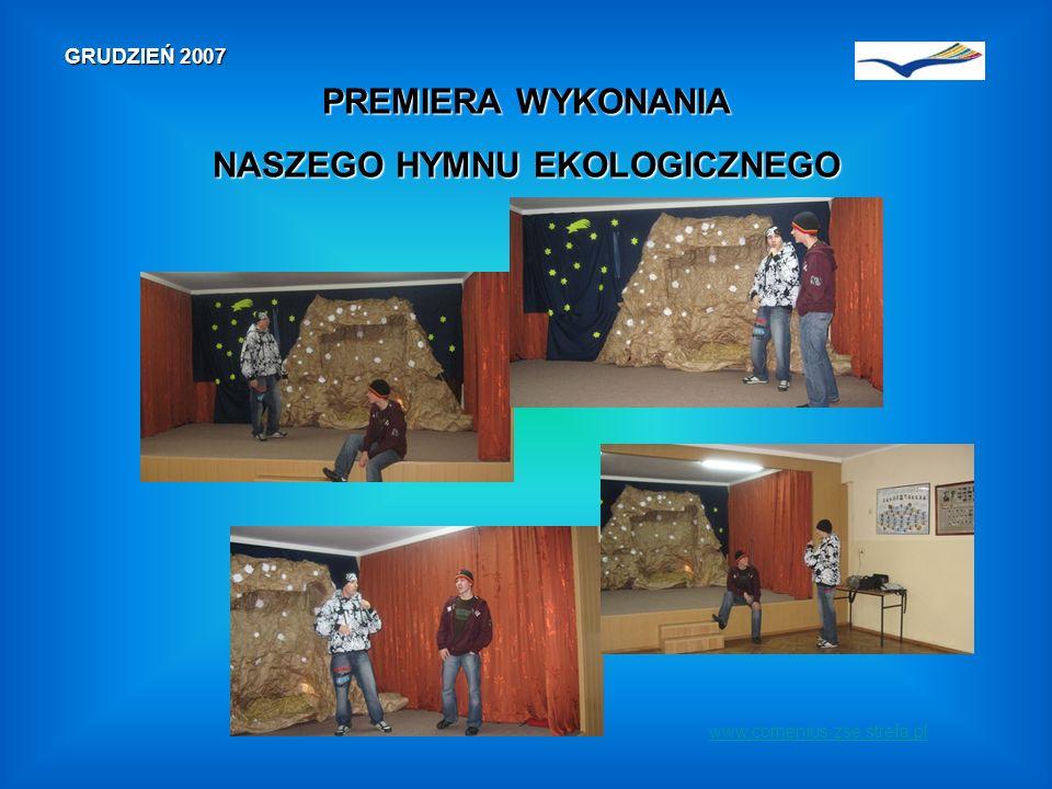 KWIECIEŃ 2008 www.comenius-zse.strefa.plWizytaprzedstawicieli naszej szkoły w Maladze Wizytaprzedstawicieli naszej szkoły w Maladze szczegóły na naszej stronie 15-19 kwietnia 2008 r.