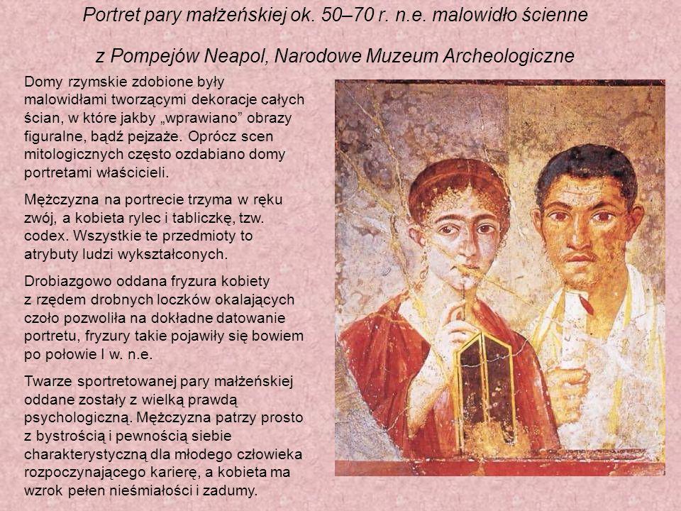 Portret pary małżeńskiej ok.50–70 r. n.e.