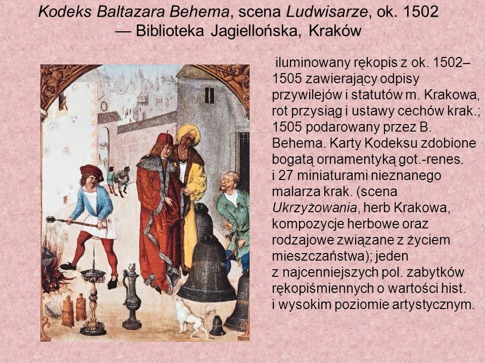 Kodeks Baltazara Behema, scena Ludwisarze, ok.