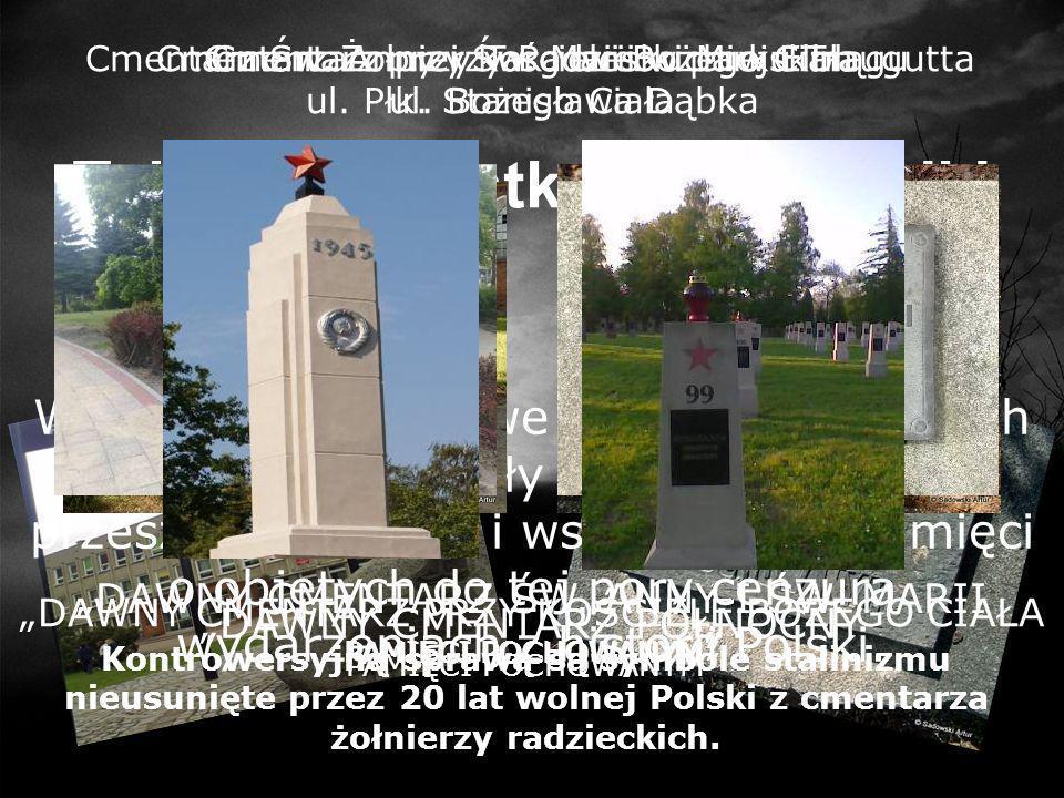 Cmentarz na rogu dzisiejszej ulicy Brzeskiej i Browarnej PAMIĘCI ŻYDÓW ELBLĄGA DAWNY CMENTARZ 1812-1945 Cmentarz żydowski w Elblągu - założono w 1812 roku.