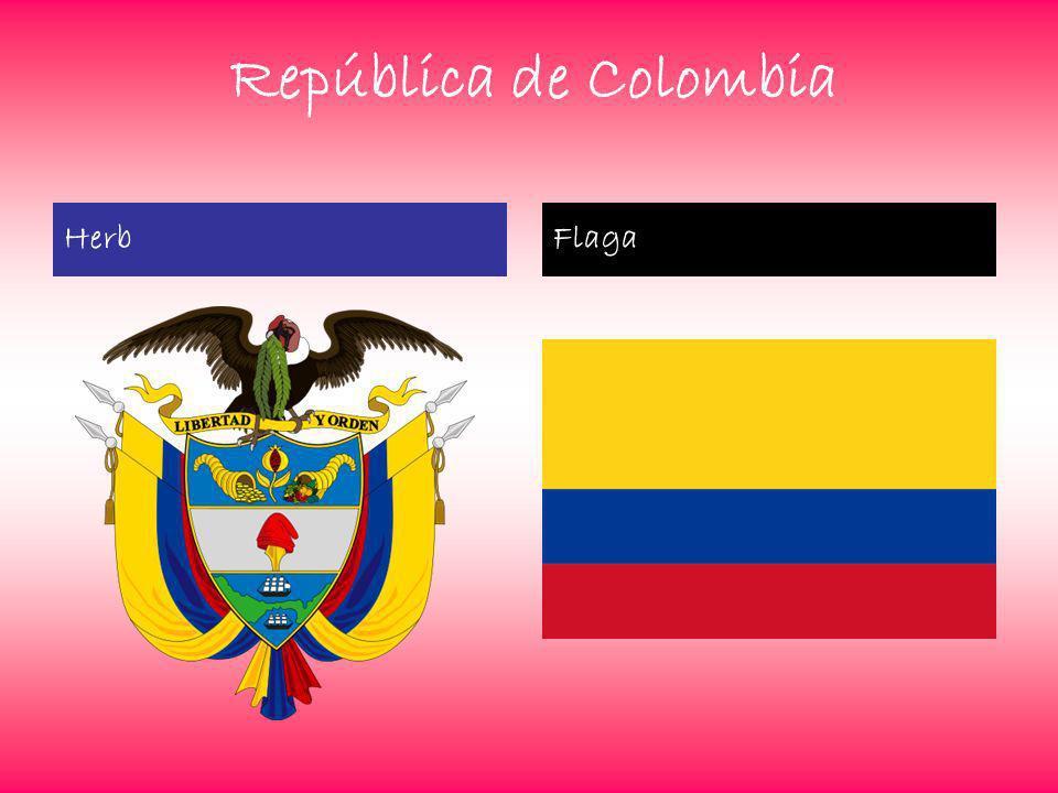 República de Colombia HerbFlaga
