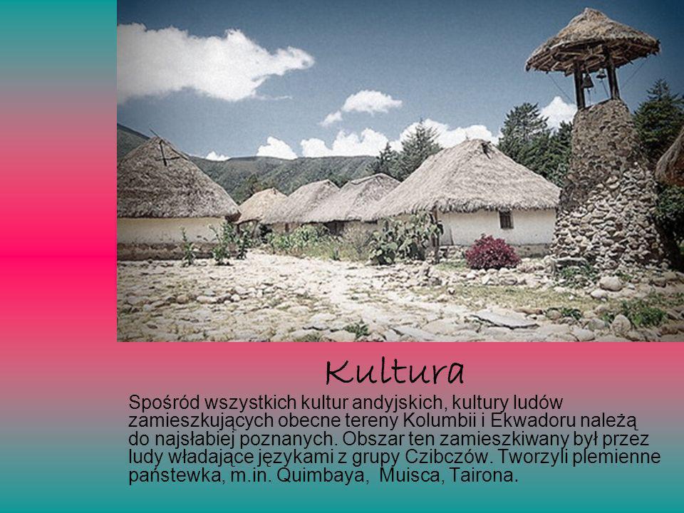 Spośród wszystkich kultur andyjskich, kultury ludów zamieszkujących obecne tereny Kolumbii i Ekwadoru należą do najsłabiej poznanych. Obszar ten zamie