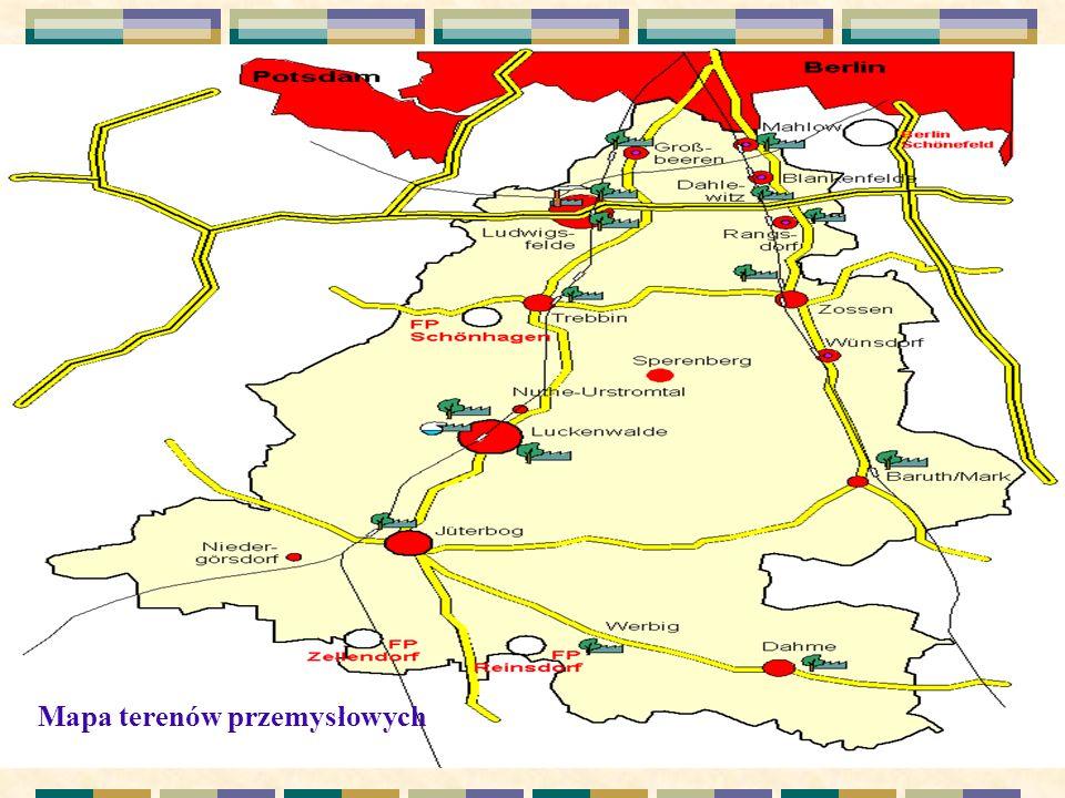 . Mapa terenów przemysłowych