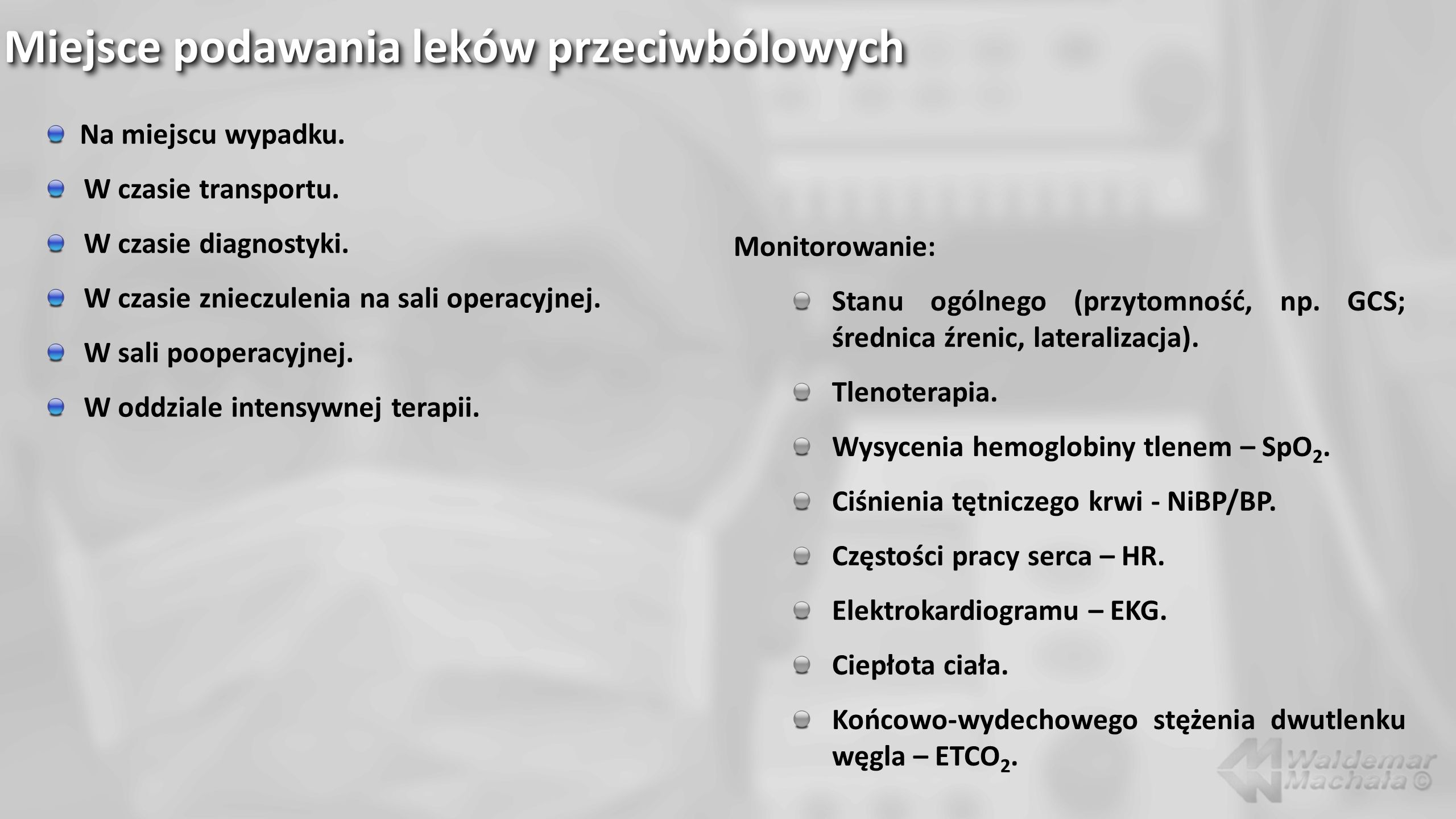 Benzodwuazepiny – stosowane leki: Diazepam (Relanium – Polfa); amp.