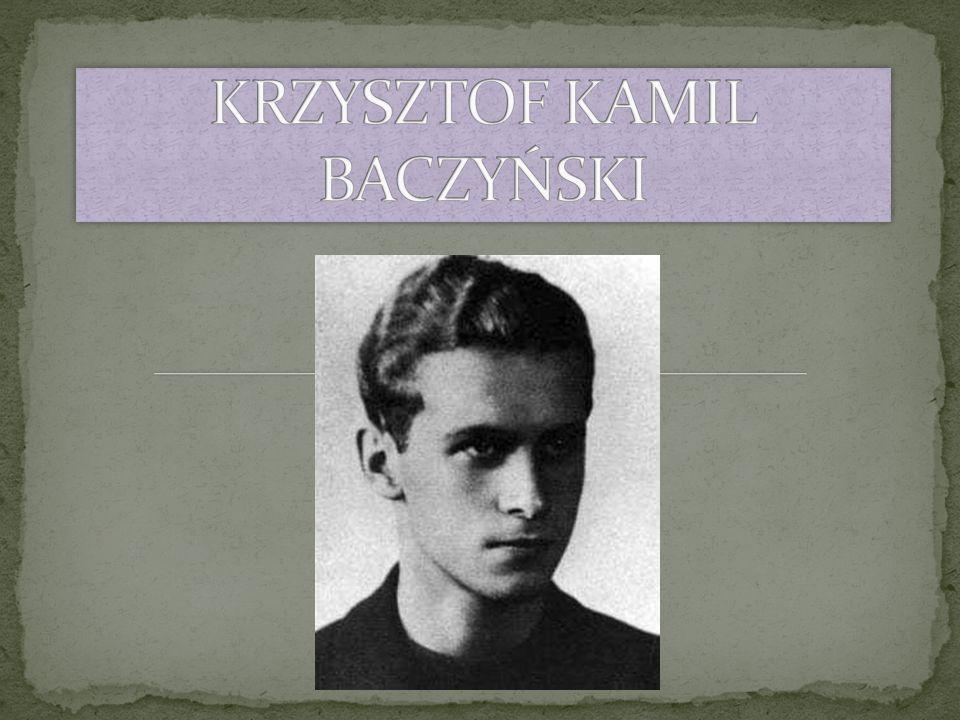 Krzysztof Kamil należał do pierwszego pokolenia urodzonego w Ojczyźnie wolnej i niepodległej.