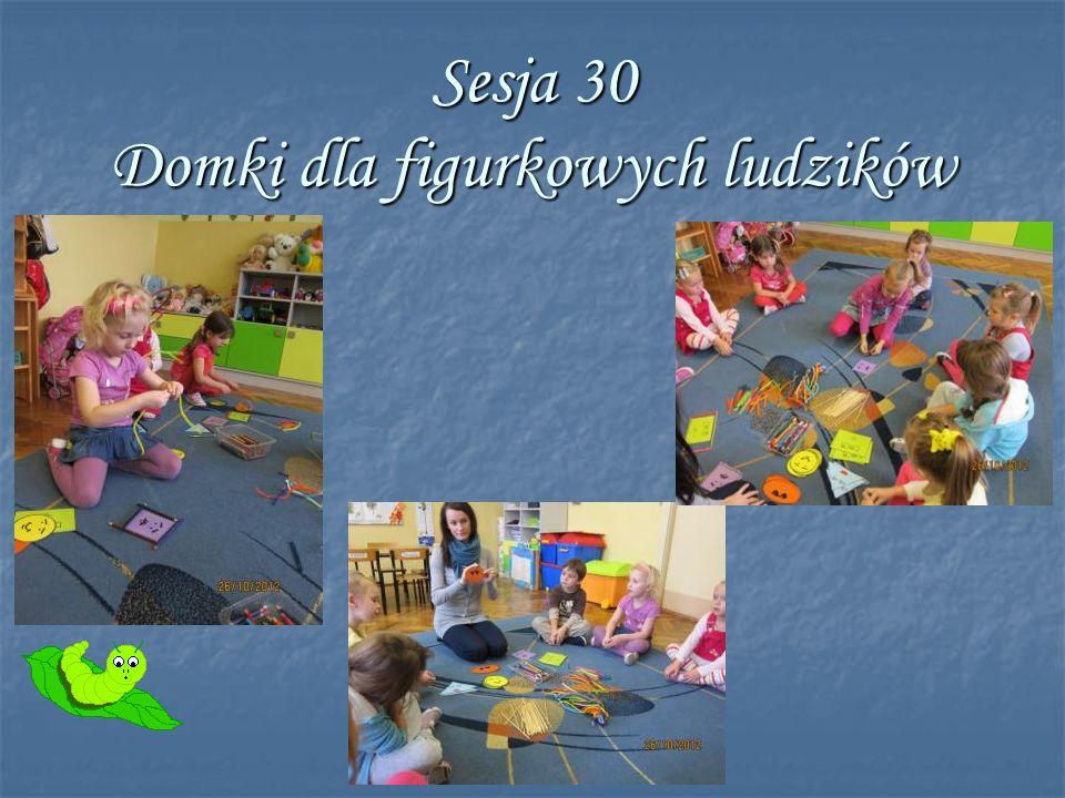 Sesja 30 Domki dla figurkowych ludzików