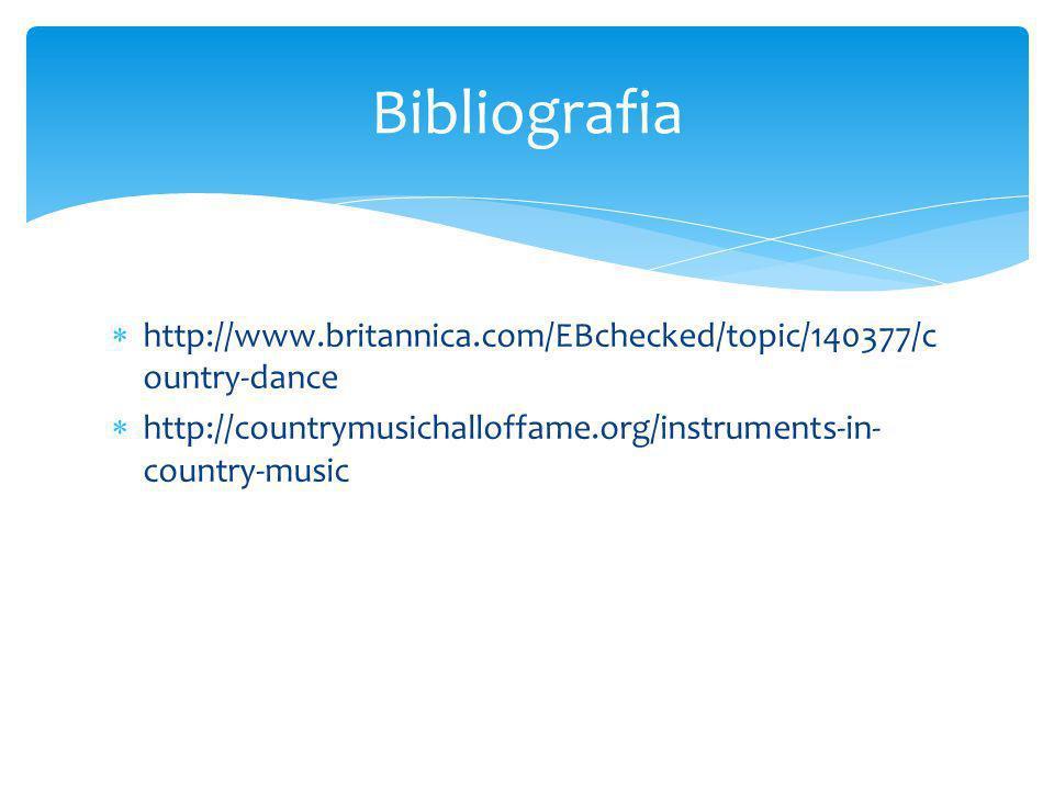 http://www.britannica.com/EBchecked/topic/140377/c ountry-dance http://countrymusichalloffame.org/instruments-in- country-music Bibliografia