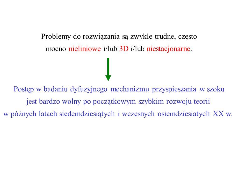 Problemy do rozwiązania są zwykle trudne, często mocno nieliniowe i/lub 3D i/lub niestacjonarne.