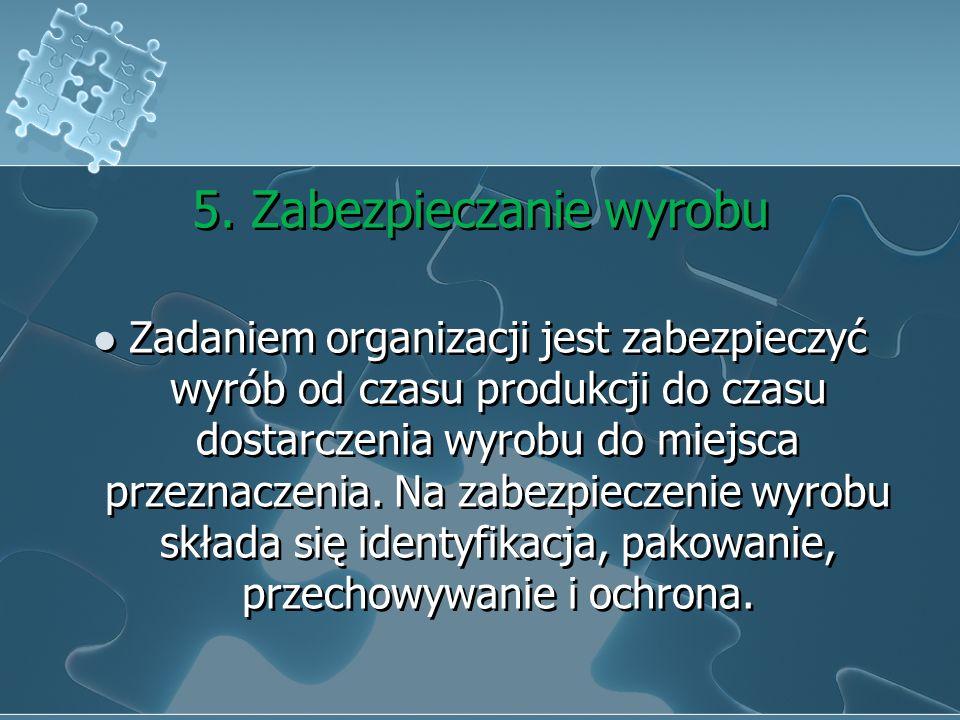 4. Własności klienta Pieczę nad własnością klienta sprawuje organizacja. Do dalszych obowiązków organizacji należy identyfikowanie, weryfikowanie, chr