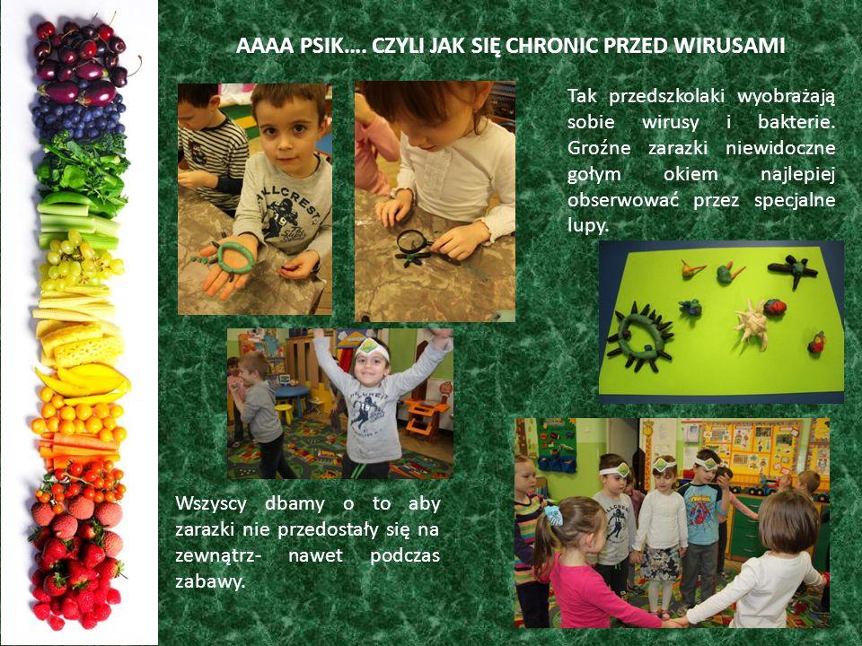 Podsumowanie akcji Przedszkolak pełen zdrowia stanowiła prezentacja w wykonaniu dzieci.